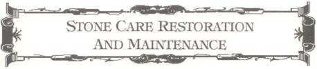 STONE CARE RESTORATION & MAINTENANCE LOGO